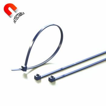 Brida detectable reusable plastico detectable