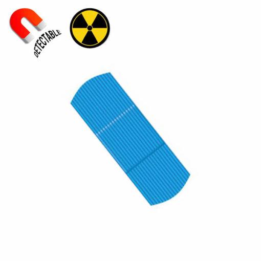 Tiritas detectables por detector de metales y RX