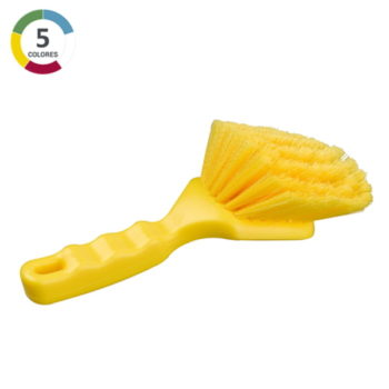 Cepillo mango corto - Cerda ondulada