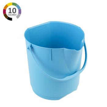 Cubo ultra higiénico de 12L - Azul