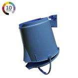 Soporte de pared para cubo ultra higiénico - Ejemplo de uso